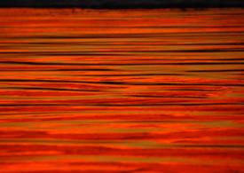sun on the ocean by thelo aiken
