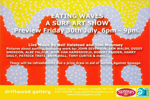 Eating Waves @ Driftwood Gallery, Newquay
