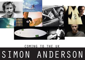 Simon Anderson to visit the UK