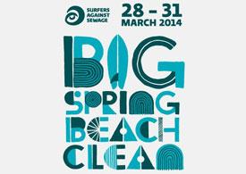 SAS - Big Spring Beach Clean 2014