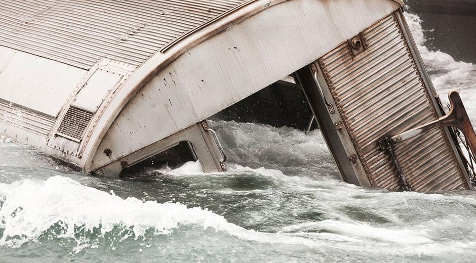 subway sinking